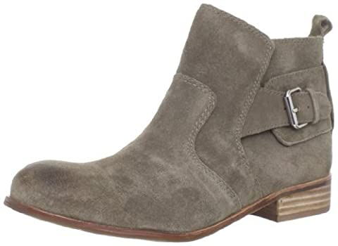 DV by Dolce Vita Women's Rodge Ankle Boot,Taupe Suede,8 M US (Dv Ankle Boots)
