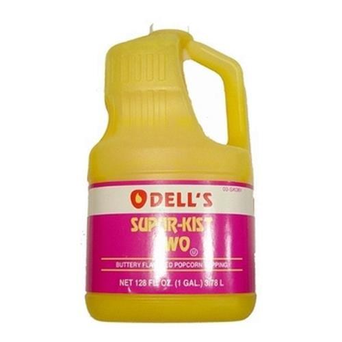 O'Dells Popcorn Supur-Kist II Topping (Gallon) Case by O'Dells (Image #1)