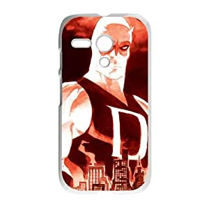 Motorola G Cell Phone Case White Daredevil Yellow SP4139360