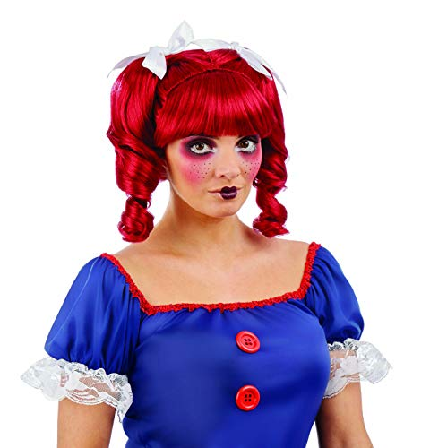 (fun shack Women's, Doll Wig One)