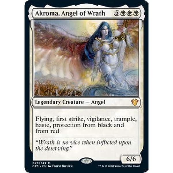 MTG C20 Akroma Angel of Wrath MINT
