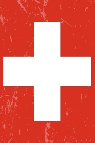 book cover - Switzerland Flag Journal: Switzerland Travel Diary, Switzerland Souven... - Country Flag Journals