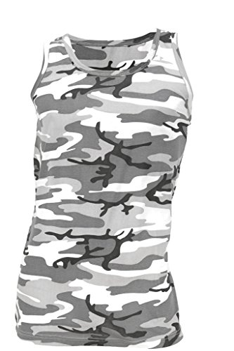 Blöchel Us Différents Citytarn Débardeur xxxl Coloris Top S Style A Army Muscleshirt Disponibles 6ngqdT6w0