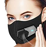 Dust Mask with Electric Respirator, Beeasy Electric Air Mask Dustproof Masks Washable For Outdoor Sports, Gardening, Travel, Craftsman Resist Dust, Germs, Allergies, PM2.5, Pollution, Ash, Poll