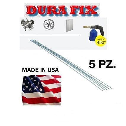 Barras y Varillas/Soldadura Aluminio, 5 Piezas DURAFIX/FIX ALMAGIC DURA
