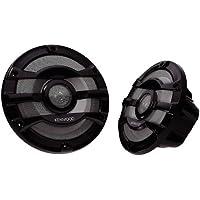 Kenwood KFC-2053MRB Marine 600 Watt 8 2-Way Boat Audio Speakers Black Pair