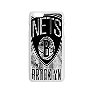 Brooklyn Nets NBA White Phone Case for iPhone 6 Case