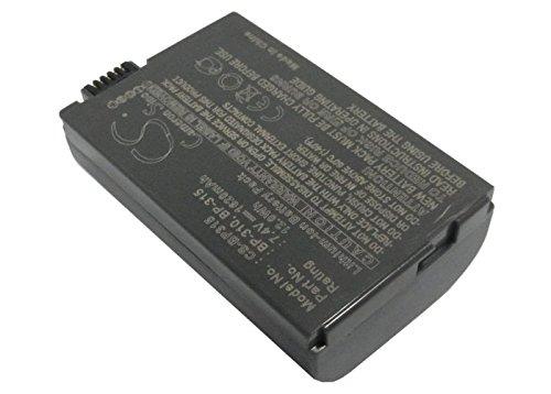 VINTRONS 1620mAh Battery For CANON BP-310, BP-315 ()