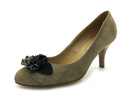 Tamaris - Botas de cuero para mujer - gris