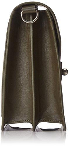 Paul & Joe - Goctave, Bolsos bandolera Mujer, Grün (Kaki/khaki), 20x10x24 cm (B x H T)