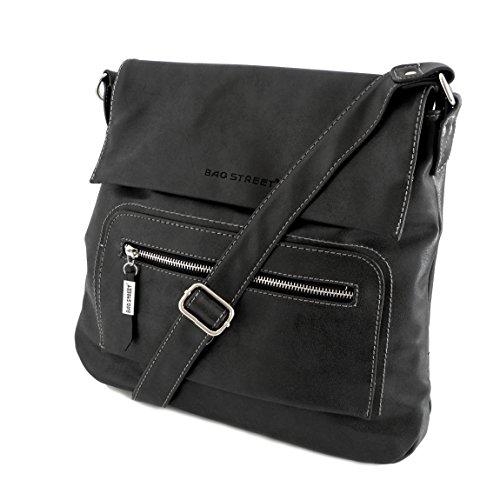 0 Attraversato präsentiert Diversi Nero Colori Borsa Zmoka® Grigio Bag Donna Von Multicolor Ha grigio Strada qO5qxwRHY