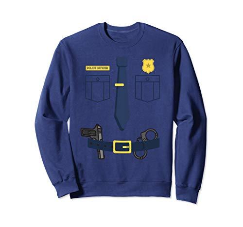 (Police Sheriff Uniform Costume Shirt | Funny Halloween)
