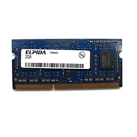 2 GB RAM PC portátil SODIMM Elpida ebj21ue8bds1-dj-f PC3 - 10600S 1066 mhz DDR3: Amazon.es: Electrónica