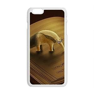 Creative Book Animal Custom Protective Hard Phone Cae For Iphone 6 Plus
