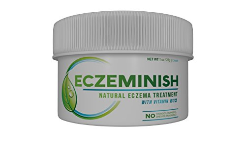 Baby Eczema Healing Cream with Vitamin B12 and Black Seed Oil. Certified Organic Natural Eczema Therapy and Dermatitis Treatment