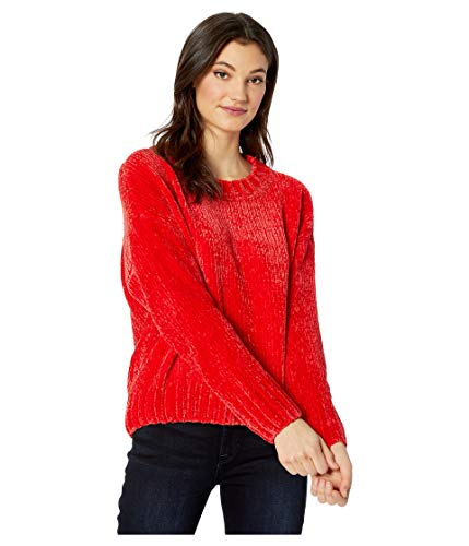 Sanctuary Chenille Pullover Sweater Street Red MD (US 8)