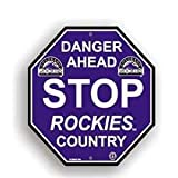 Colorado Rockies Stop Sign
