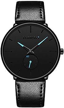 Phantaci Men's Casual Leather Watch