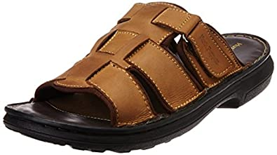 Hush Puppies Men's Leather Hawaii Thong Sandals