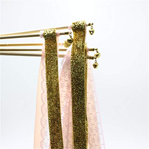 - Hoxekle 30pcs Happy Party Wedding Fairy Stick Jewelry Headband Lace Ribbon with Bells Fairy Stick for Wedding Decoration Supplies
