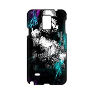 Black mysterious man 3D Phone Case for Diy For SamSung Galaxy S5 Case Cover