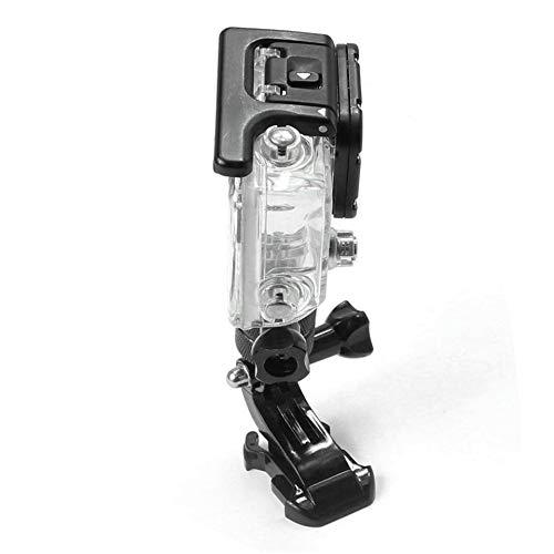 3 Feketeuki Braccio Girevole Flessibile di Rotazione delladattatore del Supporto del Braccio Girevole da 360 Gradi per GoPro 5//4 Braccio di Rotazione della Base Fissa della Lega di Alluminio