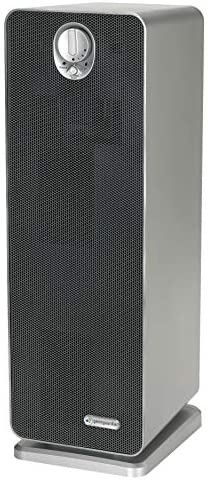 GermGuardian True HEPA Filter Air Purifier with UV Light Sanitizer, Eliminates Germs, Filters Allergies, Pollen, Smoke, Dust, Pet Dander, Mold, Odors, Quiet 22 in 4-in-1 AirPurifier for Home, Silver