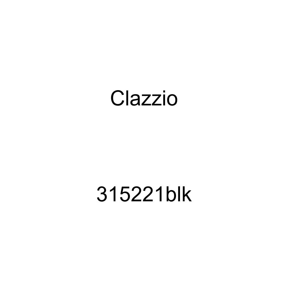 Clazzio 315221blk Black Leather Front Row Seat Cover for Honda Civic 2 Door DX//LX