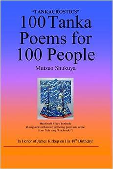 tanka poem template - 100 tanka acrostic poems for 100 people
