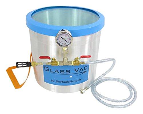 5 gal Best Value Vacs GV5GA Aluminum Vacuum Chamber