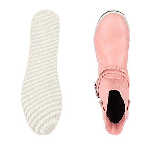 napoli-fashion - Botas clásicas Mujer Rosa