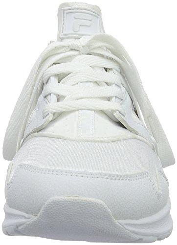 Fila Fleetwood Low - Zapatillas Hombre Weiß (Bright White/Bright White)