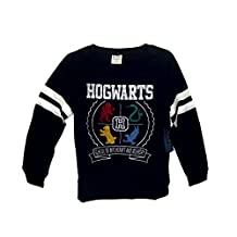 Bio World Merch Harry Potter Hogwarts Junior's Sweater with Beanie Fashion Combo