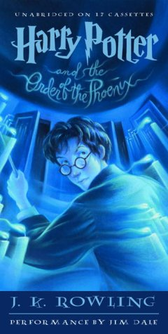 Harry Potter And The Order Of The Phoenix Book 5 J K Rowling Jim Dale 9780807220283 Amazon Com Books