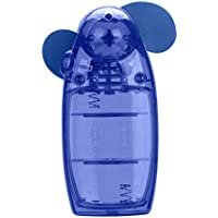 Rumas® Portable Handheld Mini Air Conditioner Cooler Fan Battery (blue)
