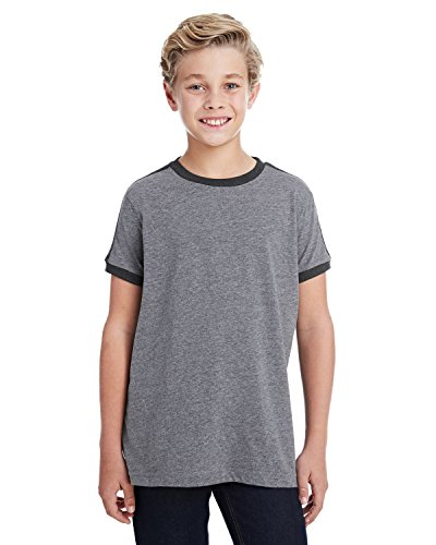 - A Product of LAT Youth Soccer Ringer Fine Jersey T-Shirt -Bulk Saving