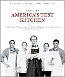 here in america 39 s test kitchen all new recipes quick