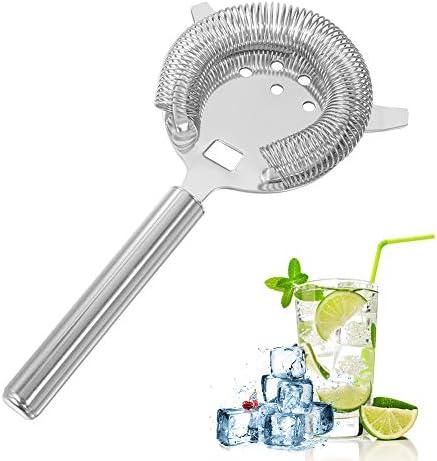 Chutoral Bar-Getränkesieb, wiederverwendbar, Edelstahl