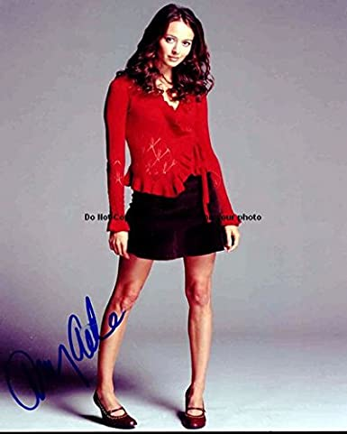 Amy Acker Autographed Preprint Signed 11x14 Poster Photo At Amazons
