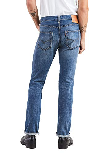 Hombre 501 Straight Original Levi's para Levis Blue Fit Vaqueros qv6X0wd