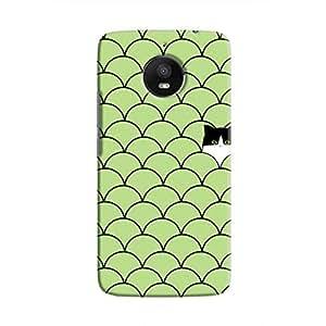 Cover It Up - Cat In Grass Moto E4 PlusHard Case