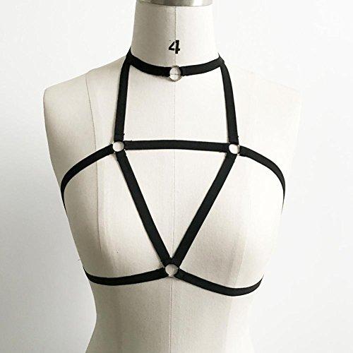 WINWINTOM Damen Body schwarz schwarz Einheitsgröße