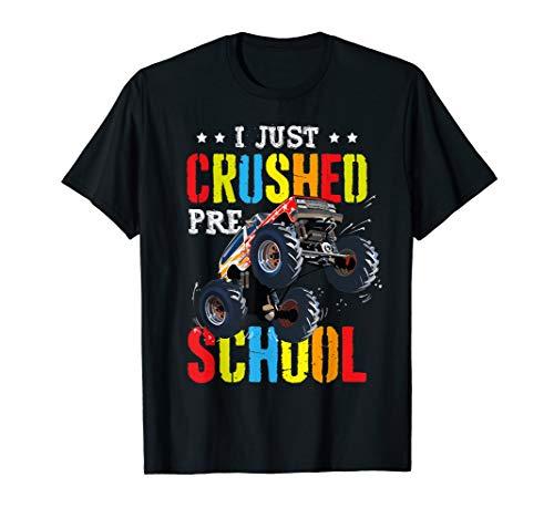 I Just Crushed Preschool Monster Truck Graduation Pre-K