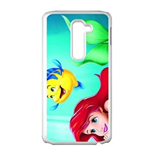 WAGT The little mermaid Case Cover For LG G2 Case