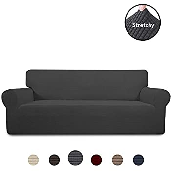 Amazon.com: Boshen Stretch Seat Chair Covers Couch Slipcover ...