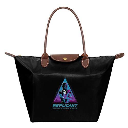 Like Tears In Rain Blade Runner Waterproof Leather Folded Messenger Nylon Bag Travel Tote Hopping Folding School Handbags