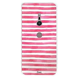 SONY XZ2 Pink White stripes