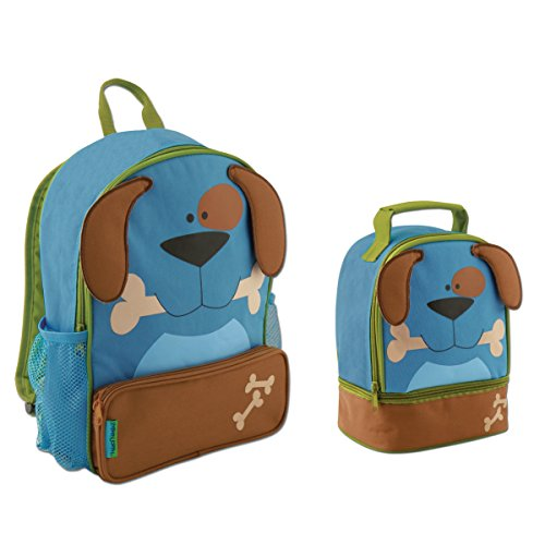 Price comparison product image Stephen Joseph Sidekick Puppy Dog Backpack and Lunch Pal - Cute Boys Backpacks