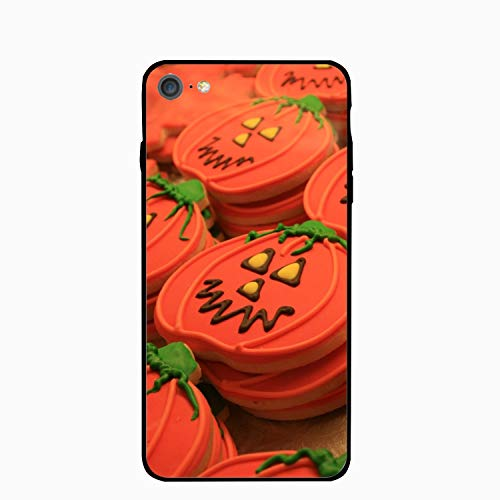 Halloween Pumpkin Cookies Floral Print PC Cellphone case for iPhone 6/6s ()