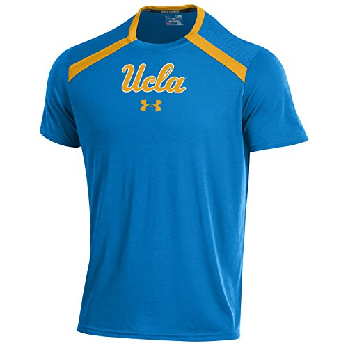 Under Armour NCAA UCLA Bruins Men's Threadborne Short Sleeve Tech Tee, 3X-Large, Powderkeg